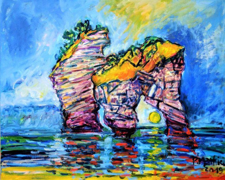 Patrick Mathieu - Artiste Peintre - Toile - Sans Nom