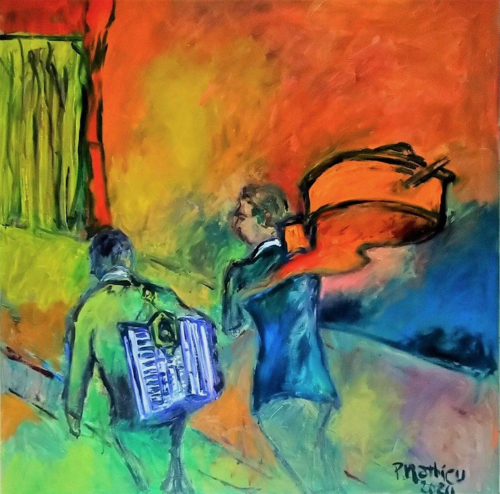 Patrick Mathieu - Artiste Peintre - Toile - La Bodega